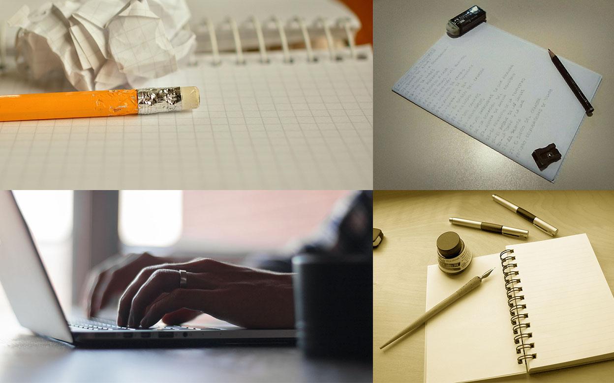 las herramientas de un escritor